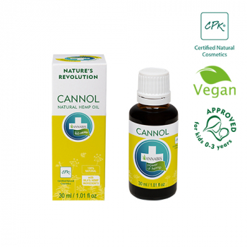 CANNOL 30ml massage oil, hair and bathing oil