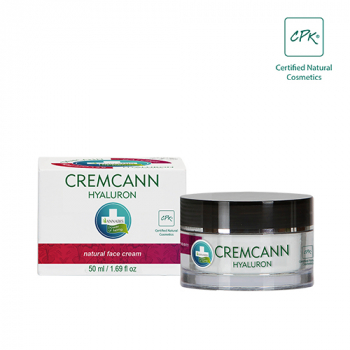 Bio CREMCANN with Hyaluronic acid - Anti-Aging day care cream, 50ml