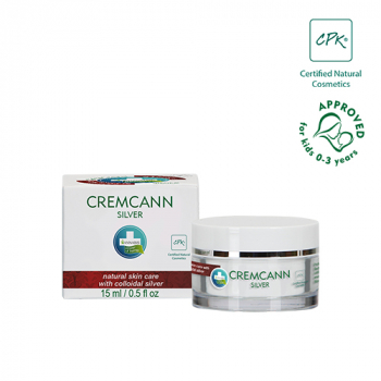 CREMCANN SILVER CREAM - suitable for acne, 15ml