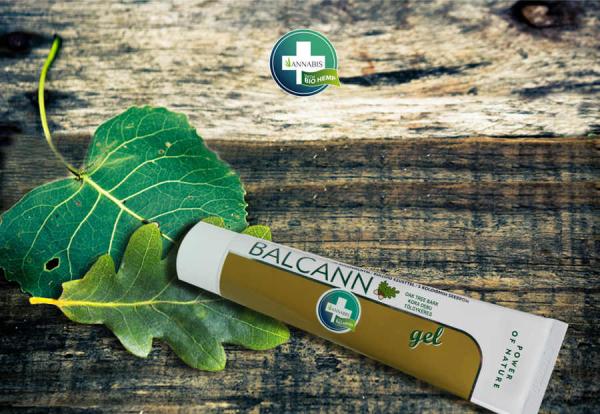 BALCANN Gel von ANNABIS zur natürlichen Wundheilung rissiger Haut und Hämohorriden
