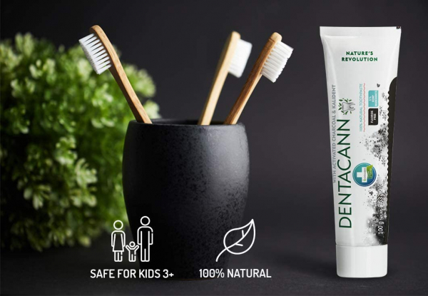 ANNABIS Dentacann tooth paste with charcoal